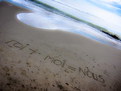 carpe diem (Aldo Capurro) Tags: amore carpediem sabbia canons90