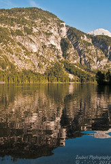Almsee (zouberiphotography) Tags: summer mountain lake mountains alps reflection water berg rock landscape austria see still nikon outdoor calm upper waterscape almtal d90 grnau almsee zouberi