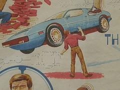Vintage Six Million Dollar Man Bedspread (MazeMan2011) Tags: sixmilliondollarman sixmilliondollarmanbedspread sixmilliondollarmanfabric sixmilliondollarmanvintage