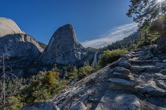 DSC03131 (digitalfuzion) Tags: california bridge camping trees mountains forest outdoors nationalpark nps hiking backpacking waterfalls yosemite halfdome elcapitan