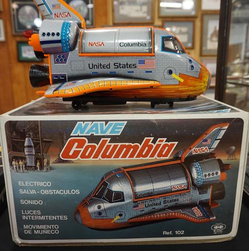 Columbia Spaceship Toy w/Box ($143.00)