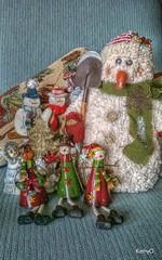 Ready (?) for Storage (Scenaria) Tags: christmas snowmen april modified 2016