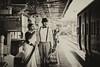 Waiting for train (suchandragraphy_folio) Tags: frenchcolony preweddingshoot coupleshoot lifestyleshoot preweddinh