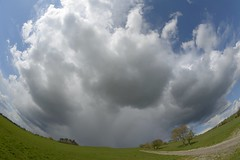 AprilSky (Tony Tooth) Tags: sky cloud weather squall shower countryside nikon buckinghamshire wideangle fisheye april 8mm brill bucks samyang aprilshower d7100