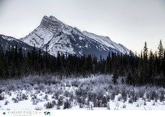 Mount Rundle in Banff, Alberta (Vincent Demers - vincentphoto.com) Tags: voyage ca trip travel winter mountain canada nature montagne landscape rockies hiver alberta banff traveling paysage mountrundle banffnationalpark winterlandscape canadianrockies winterscene travelphotography travelphoto traveldestinations traveldestination paysagedhiver photographiedevoyage photosdevoyage photodevoyage improvementdistrictno9 travellocations travellocation