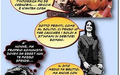 Ricercati i pusher di tre nuove sostanze tossiche pseudo politiche (SatiraItalia) Tags: humor vignette cartoons satira