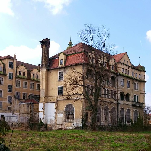 Grand Hotel Royal - Slovan Built up in 1906 but due to financial crisis inactive since 1986