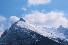blueMountain (ant 52) Tags: blue sky mountain snow nikon d5100
