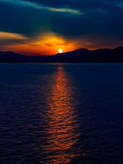 PhoTones Works #7818 (TAKUMA KIMURA) Tags: sunset nature silhouette landscape twilight scenery olympus     kimura    penf takuma     photones