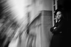 on dizziness (ElBiSt (Bianca Stoicheci)) Tags: street people blackandwhite bw mono streetphotography streetlife dizzy antwerpen bwphotography straat peoplephotography streetbw monochromemonday streetpassion