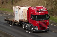 RTH Lubbers Scania R560 T500RTH (andyflyer) Tags: truck transport lorry a90 haulage hgv roadtransport