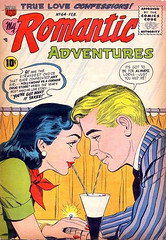 Romantic Adventures 64 (Michael Vance1) Tags: woman man art love comics artist marriage romance lovers dating comicbooks relationships cartoonist anthology silverage