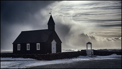_SG_2016_03_Island_0202_IMG_0795 (_SG_) Tags: ocean winter black mountains church nature landscape island lava march iceland country natur north atlantic glacier arctic land isle vulcano búðir 2016 budir republicoficeland