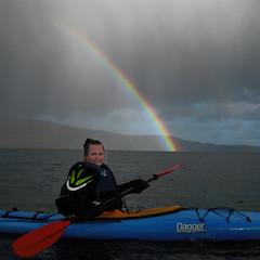 IMG_4309 (Jan Egil Kristiansen) Tags: rainbow kayaking faroeislands trshavn img4309