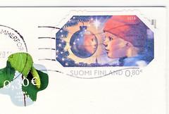 Finnland (postcardlady1) Tags: stamp briefmarke