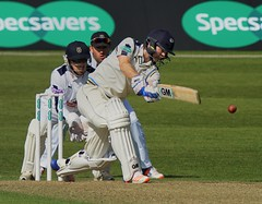 Adam Lyth In Full Flow.jpg (PeteB72) Tags: yorkshire hampshire cricket centurian attacking opener lefthanded batsman yccc frontfoot adamlyth