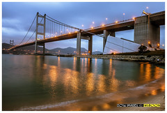 Tsing Ma Bridge  @  Hong Kong Ma Wan_1679 (wsboon) Tags: city travel cruise light sky holiday color tourism water architecture clouds composition buildings relax corporate hongkong design photo google search nikon asia exposure cityscape view nocturnal skyscrapers heart perspective visit tourist calm explore photograph land destination serene cbd bluehour pimp  nocturne dri centralbusinessdistrict blending mawan masteratwork tsingmabridge hongkonglandscape hongkongcity peopleculture  d700 hongkongcityscape  hongkongtouristattractions nocommentsimplyperfectsingaporeview hongkongcruise uniquelyhongkong hongkongfamouslandmarks