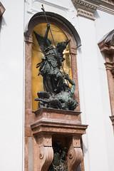 Michael puts the devil down (quinet) Tags: germany munich deutschland michael allemagne archangel 2013