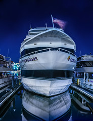blue commodore (pbo31) Tags: california blue panorama color reflection water oakland bay nikon large panoramic bayarea april eastbay alameda stitched alamedacounty 2016 boury pbo31 d810