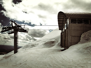 Skis HOK au Plomb du Cantal