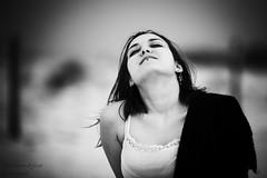 Viola (SoloImmagine) Tags: sea girl hat sand mare diary lingerie viola diario cappello sabbia sottoveste violaspiaggebianche