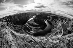 Horseshoe Bend April 8 2016-1613-2 (houstonryan) Tags: arizona lake art river print lens photography utah colorado pretty photographer bend ryan dam perspective houston az warped fisheye photograph page powell below horseshoe redrock 8mm houstonryan