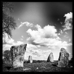 114/366 (scott.simpson99) Tags: sky cloud outdoors countryside derbyshire pagan stonecircle megalith thepeakdistrict 366 scottsimpson iphone6 hipstamatic