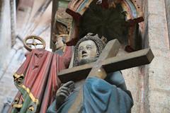 Nürnberg (CA_Rotwang) Tags: church statue germany bayern deutschland bavaria nuremberg kirche franken altstadt oldtown heilige
