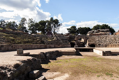 Anfiteatro Romano de Mrida (aseret_mm) Tags: old espaa roma ruins romano ruina anfiteatro rovine mrida gladiadores extremadura cittvecchia gladiador fieras visitaguiada luchagrecorromana emritaaugusta anfiteatrodemrida hispanianostra