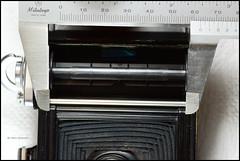 Ikonta 521-16 Film Plane Measurements (03) (Hans Kerensky) Tags: 120 6x6 film plane ikonta measurements 52116