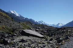 Glacial moraine, Aoraki Mt Cook, NZ (jozioau) Tags: mountains moraine glacial variosonnart282470