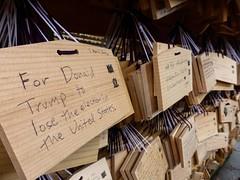 Heartfelt (Douguerreotype) Tags: japan plaque temple tokyo shrine buddhist prayer tablet