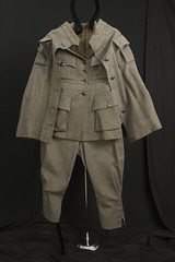 WWI Red Cross driver's uniform w/ shawl (Madison Historical Society) Tags: old people usa history museum photo interesting nikon uniform image connecticut interior military country wwi picture newengland ct indoor worldwari madison historical inside greatwar firstworldwar route1 mhs redcross conn d600 abhouse nikond600 madisonhistoricalsociety madisonhistory bobgundersen allisbushnellhouse