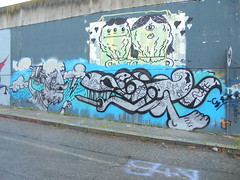 vixi (en-ri) Tags: old man muro wall writing torino graffiti nuvola vecchio argento fulmine saetta hiwa fkyv