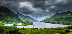 Glenfinnan (Superali007) Tags: sky clouds canon landscape scotland scenic scottish lochshiel glenfinnan ecosse lochaber 1745 jacobite bonnieprincecharlie 1746 scenicsnotjustlandscapes canon7d efs1585mmf3556isusm efs1585mm