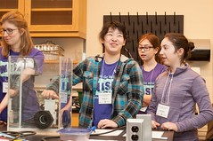 Girls Get WISE Science Retreat 2016 (Acadia University Communications) Tags: university centre environmental engineering science wolfville wise irving kc acadia