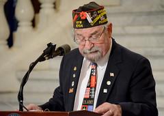 Loyalty Day 05_DSC0875 (padmva) Tags: freedom democracy pennsylvania vet flag pa veteran harrisburg veterans loyalty vfw vets paguard