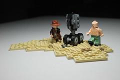 Lego Indiana Jones Airplane fight ([C]oolcustomguy) Tags: brick airplane lost jones arms lego nazi indiana scene ark raiders brickarms