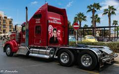 Kenworth W900 - A Tribute from Malta (Maltese_Knight) Tags: truck kenworth hauler w900