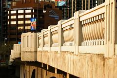 Balustrade on the Hillhurst (Louise) Bridge, Calgary April 2016 (jmichael100) Tags: bridge calgary louise hillhurst balustrade calgaryalberta