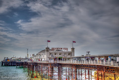 Seaside fun (Mark Leppard) Tags: sea beach weather clouds pier brighton cloudy canoneos hdr seaview canoneos6d