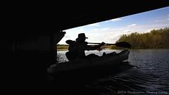 SHADOW MAN (Darkmoon Photography) Tags: city oklahoma wet outdoors kayak wake paddle gimp 66 fade okc paddling watercraft rt okalhoma stinchcomb lakeoverholser okckayak