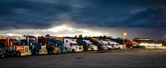Truck Stop Storm (Notley) Tags: light storm night clouds evening spring midwest missouri april trucks lightning midway nocturne stormysky 2016 10thavenue semitrucks notley ruralphotography boonecountymissouri ruralusa notleyhawkins midwaytruckstop missouriphotography httpwwwnotleyhawkinscom notleyhawkinsphotography midwaytravelcenter midwaymissouri