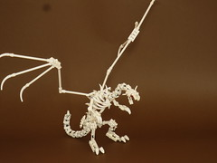 "Bone dragon (Deus ""Big D."" Otiosus) Tags: urban skeleton dragon lego time library dragons dungeon adventure dd exploration skeletal dungeons dnd gladiator urbex moc at"