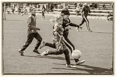 Enjoying football 1 (JP Korpi-Vartiainen) Tags: game girl sport finland football spring soccer hobby teenager april kuopio peli kevt jalkapallo tytt urheilu huhtikuu nuoret harjoitus pelata juniori nuori teini nuoriso pohjoissavo jalkapalloilija nappulajalkapalloilija younghararstus