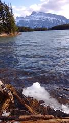 ice on two jack (rana.way) Tags: lakes mountrundle twojacklake rundlerange