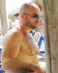 IMG_0905 (danimaniacs) Tags: shirtless man sexy guy beard mexico muscle muscular hunk puertovallarta stud scruff bodyhair