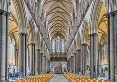 Salisbury Cathedral, Wiltshire (JackPeasePhotography) Tags: uk summer holiday nikon cathedral may bank salisbury wiltshire