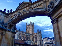 Beautiful Bath (Nige H (Thanks for 4.6m views)) Tags: history abbey architecture bath arch roman historic historical bathabbey aquaesulis romancity beautifulbath