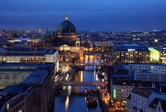 Berlin (Pinky0173 (thrun-fotografie.de)) Tags: berlin germany deutschland europa europe dom kirche bluehour blauestunde berlincathedral pinky0173 thrunfotografiede